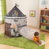 Kidkraft Castle Tent with Tunnel  Grey