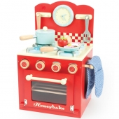Le Toy Van Oven and Hob Set Red