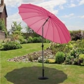 Shanghai 2.7m Pink Parasol With Crank and Tilt