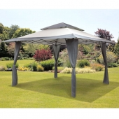 4m Pop Up Gazebo Grey