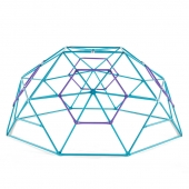 Plum Phobos 10ft Metal Dome - Teal/Purple