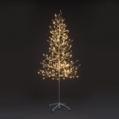 6ft Champagne Tree with 312 Warm White LED Lights