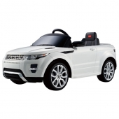 Range Rover Evoque Licensed 12v Ride on Car  White