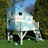 Shire Command Post + Platform Playhouse