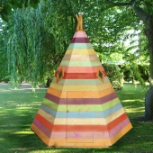 Shire Wigwam Wooden Playhouse