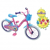 Shopkins Collectible 16inch Bike with 6 Collectible Shopkins