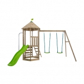 TP Toys Castlewood Kennilworth Wooden Swing Set and Slide