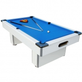 Mightymast White Speedster 7ft Slate Bed Pool Table