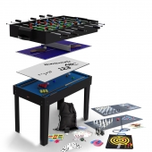 BCE 4ft 12-in-1 Multi Games Table MG12-1S (Black)