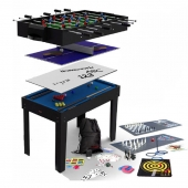 BCE 4ft 21-in-1 Multi Games Table MG21-1S (Black)