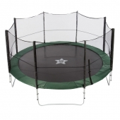 EvoStar 10ft Deluxe Trampoline and Enclosure