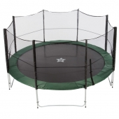 EvoStar 15ft Deluxe Trampoline and Enclosure
