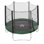 EvoStar 8ft Deluxe Trampoline and Enclosure