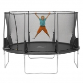 Plum 12ft Space Zone V2 Trampoline and Enclosure