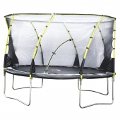 Plum 14ft Whirlwind Trampoline and Enclosure