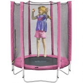 Plum 4.5ft Junior Trampoline and Enclosure (Pink)