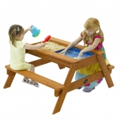 Plum Surfside Sand and Water Picnic Table
