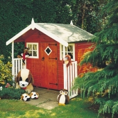 Shire Hobby Wooden Playhouse