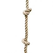 Trigano Jardin 2.45m Knotted Climbing Swing Rope