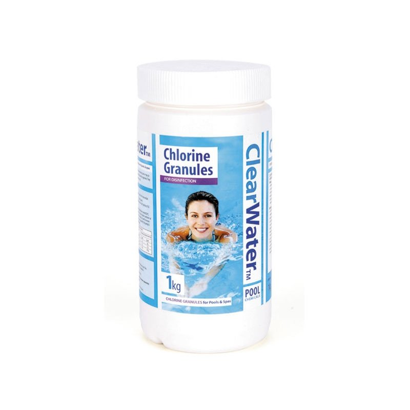 clearwater 1kg chlorine granules