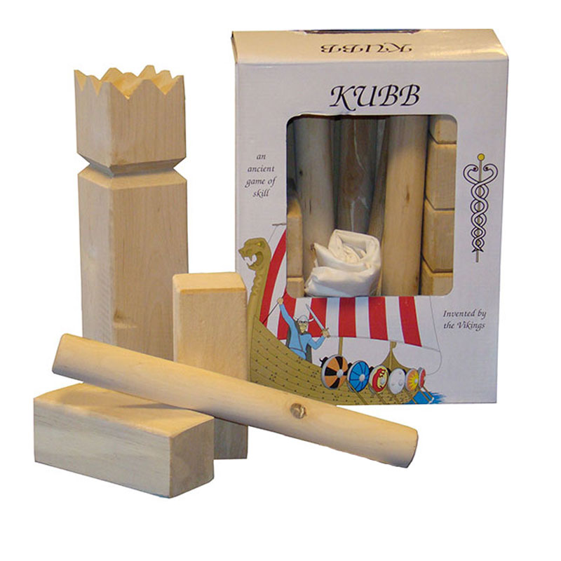 bex kubb birch outdoor garden game