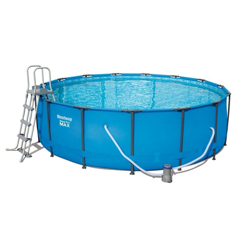 Bestway 15ft Steel Pro Max Frame Pool Set Bestway 15ft