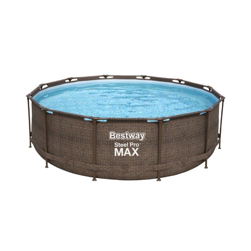 Bestway 12ft Steel Pro Max Deluxe Pool Set All Round Fun