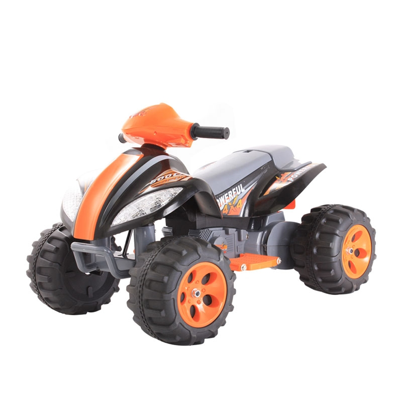 6v quad black/orange