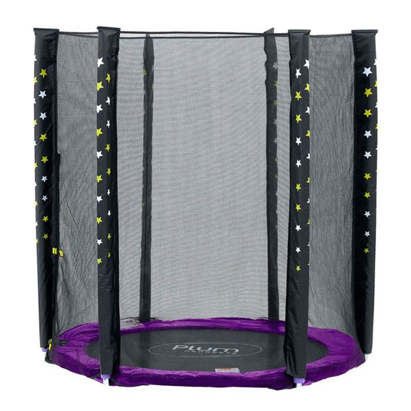 plum 5ft junior external trampoline net stardust (net only)