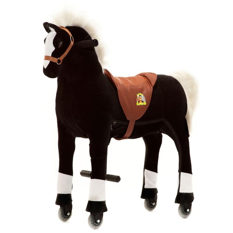 Image of Animal Riding Horse Black Medium