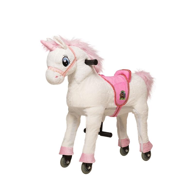 Image of Animal Riding Unicorn White Small