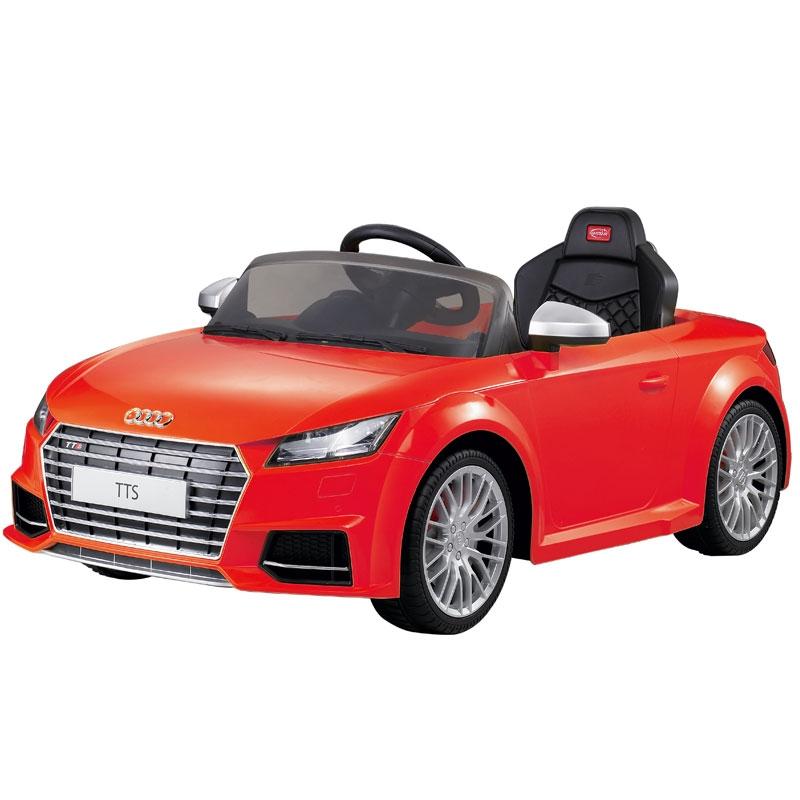 Image of Audi TT Licensed 12v Ride on Car Red