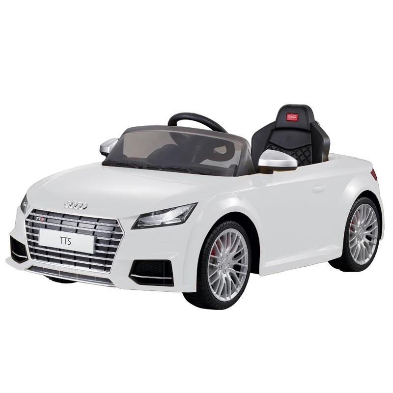 Image of Audi TT Licensed 12v Ride on Car White