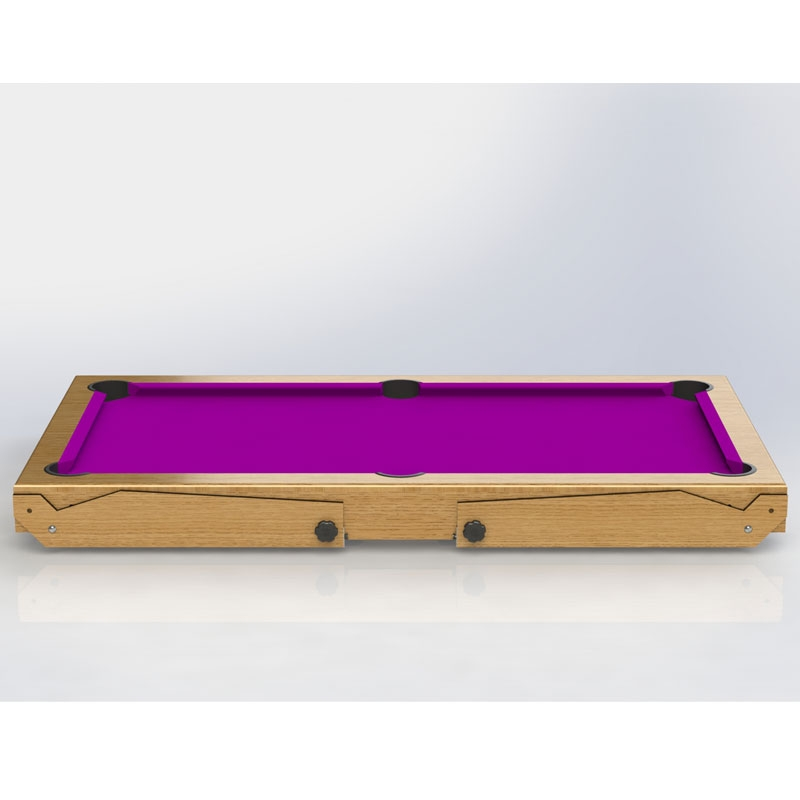 BCE Ft Rolling Lay Flat Pool Table BCE Lay Flat Pool Table All - Rolling pool table