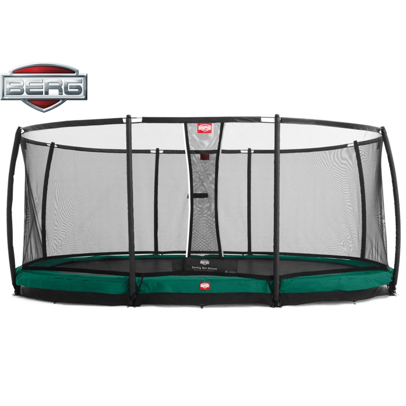BERG Grand Champion 17ft X 12ft Oval In-Ground Trampoline