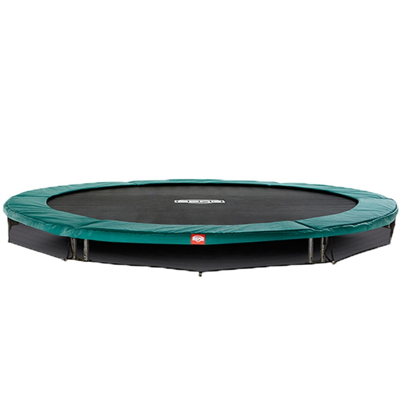 BERG Talent 10ft In-Ground Trampoline And Safety Net