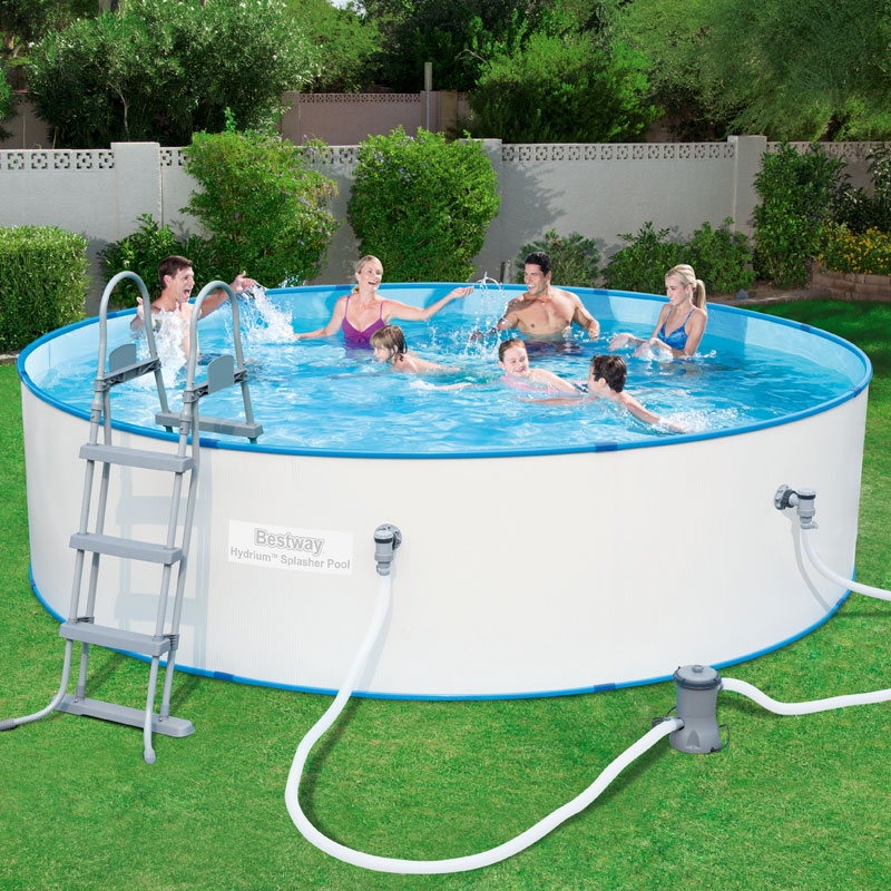 bestway 12ft hydrium splasher pool set (8,648l)