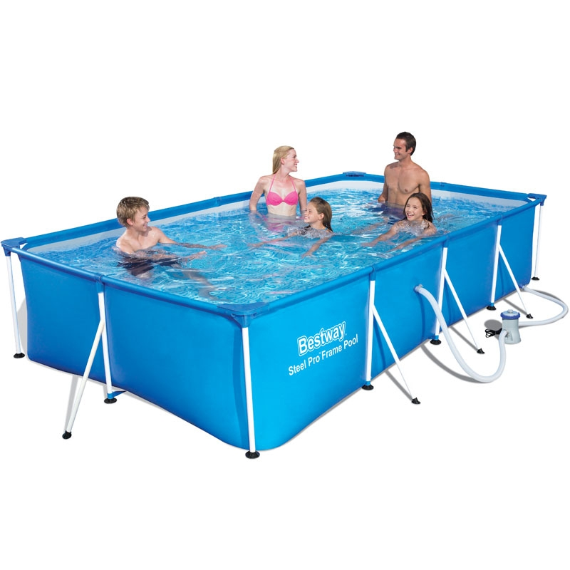 bestway 13ft family splash frame pool