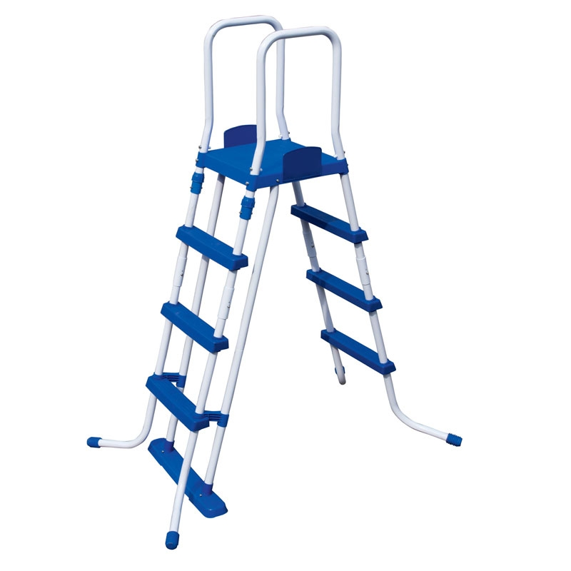 bestway 48 inch safety pool ladder
