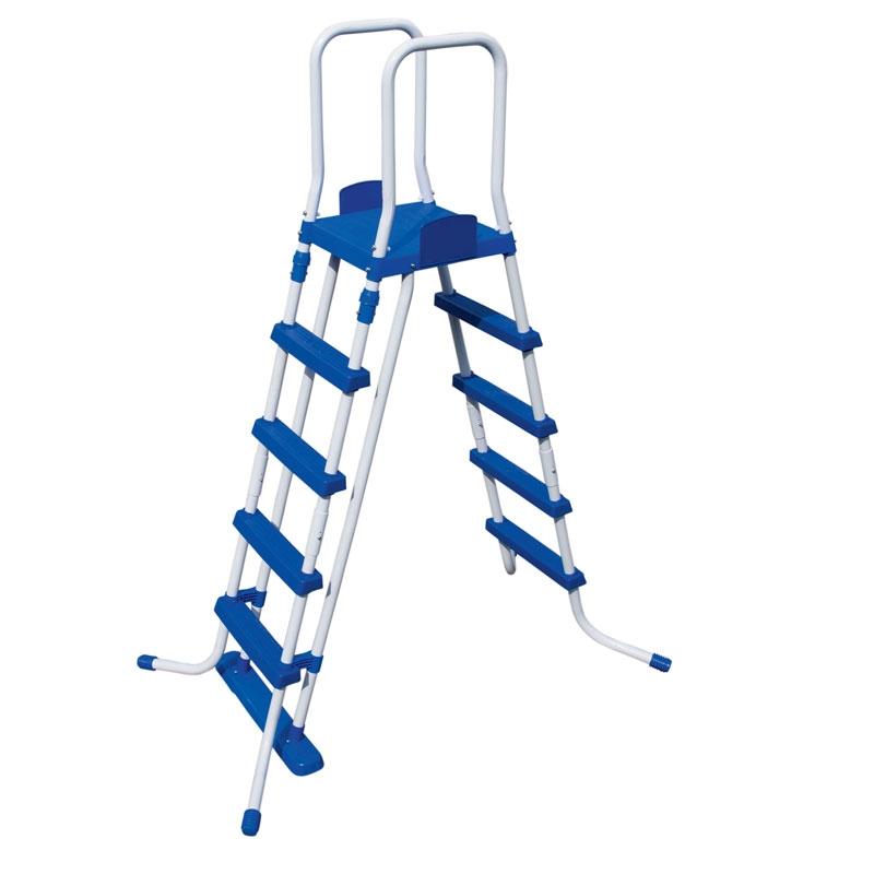 bestway 52 inch safety pool ladder