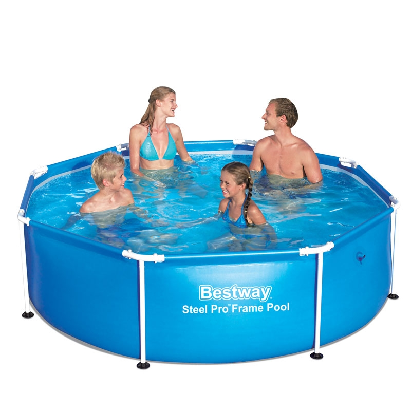 bestway 8ft steel pro frame pool