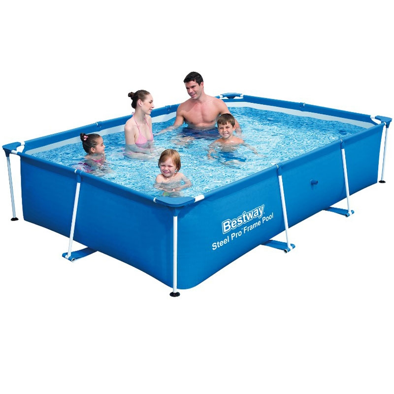 bestway deluxe splash frame pool 102 x 67