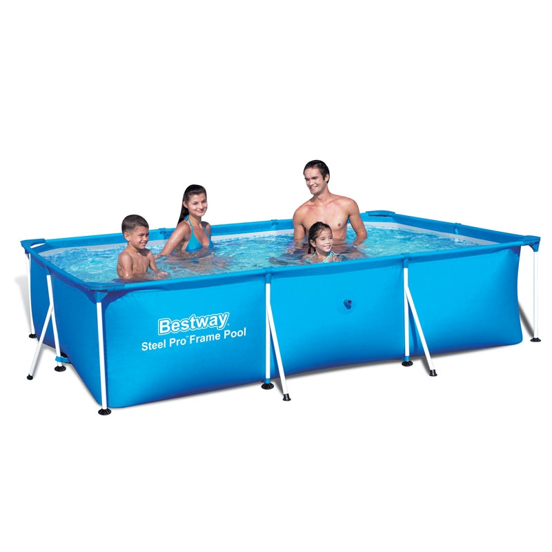 bestway deluxe splash frame pool 118 x 79