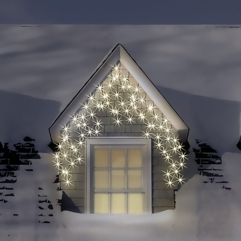 Snowtime 300 Icicle Warm White Connectable LEDs