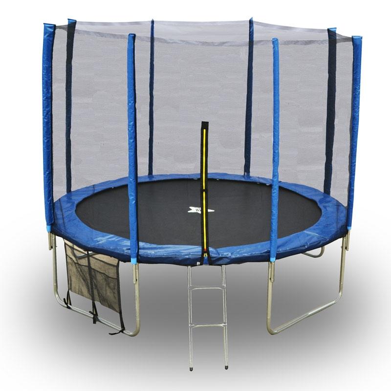 Evostar II 10ft Trampoline And Enclosure , All Round Fun
