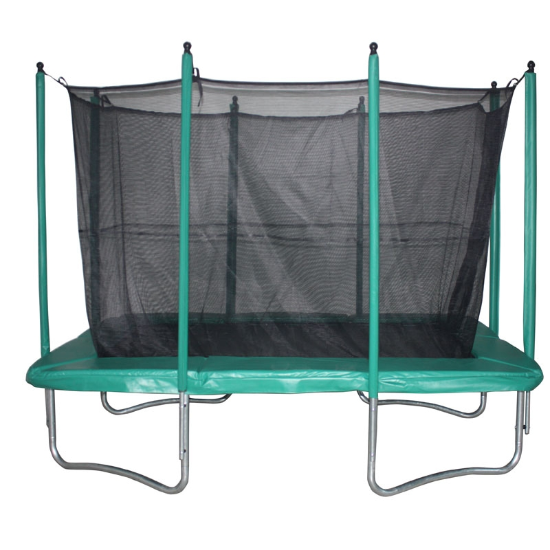 Evostar 10ft x 7ft Rectangular Trampoline and Enclosure