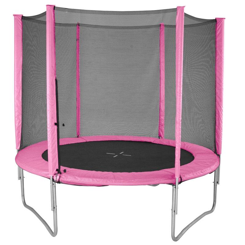 Evostar II 5ft Trampoline And Enclosure Pink