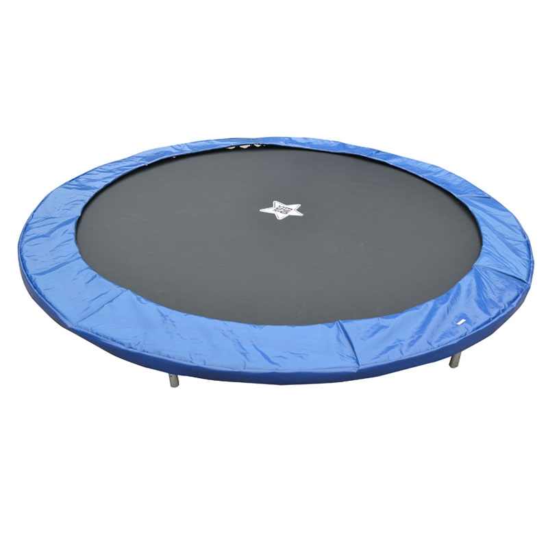 EvoStar 8ft Deluxe Replacement Trampoline Pads Blue, All