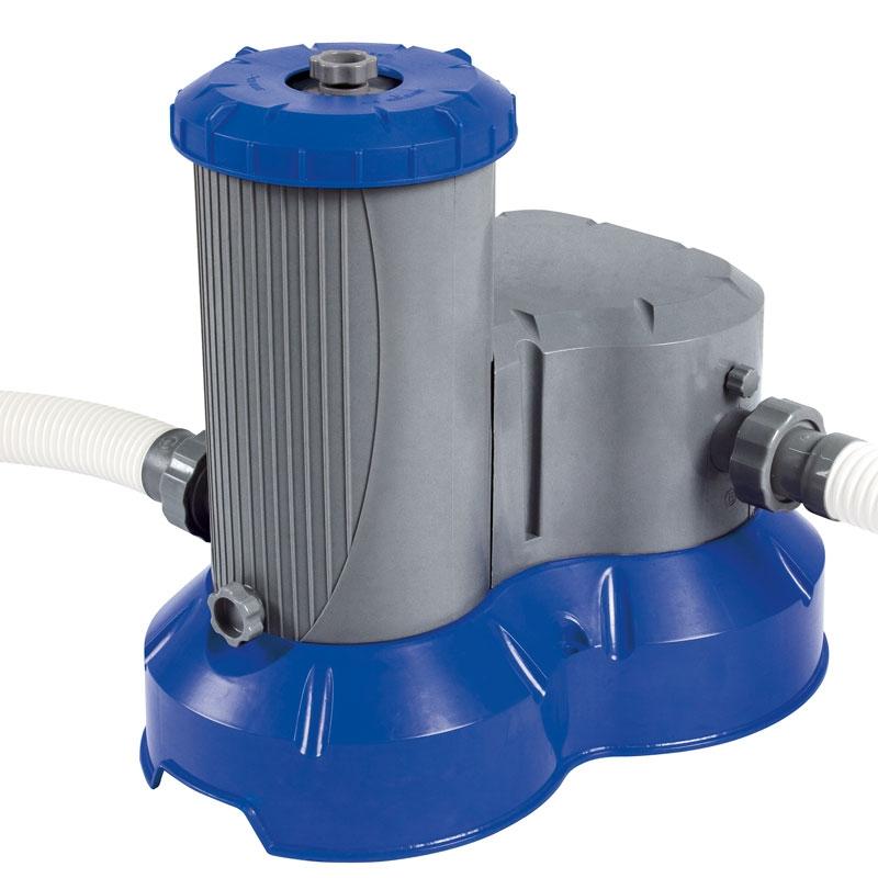 Bestway 2500gal filter pump bestway 58391 all round fun for Pool filterpumpe obi