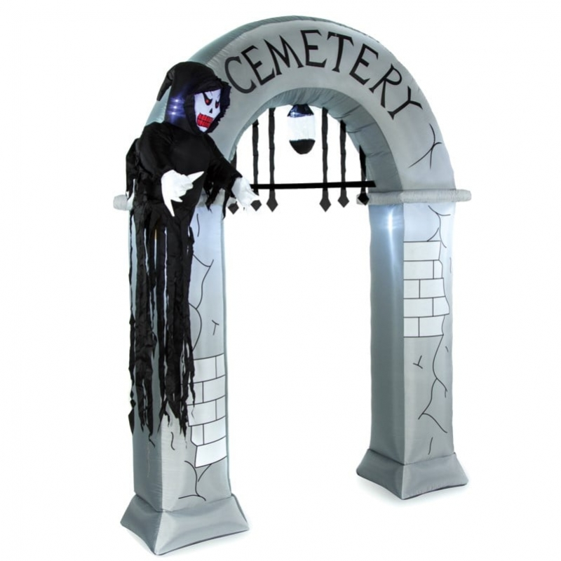 8ft Inflatable Halloween Arch Entrance